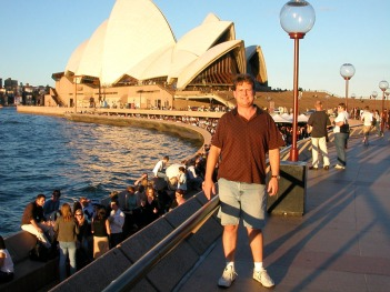 Eric at the Opera House